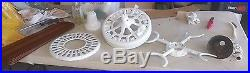100 YEAR OLD HUNTER C-17 ANTIQUE ELECTRIC 52 CEILING FAN Made in USA-GUARANTEED