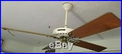 100 Year Old Hunter C17 Antique Electric 52 Ceiling Fan-fulton Syracuse New York