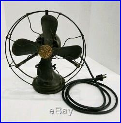 1906 Antique Working General Electric #34017 Fan