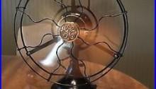 1919 GE 2 Star 3 Speed 12 Brass Blade General Electric Antique Fan
