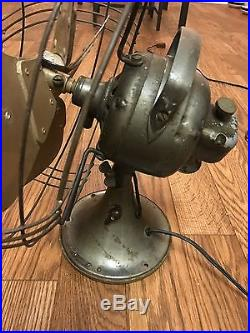 Vintage hitachi electric fan