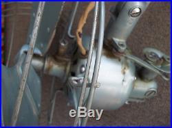 1949 General Electric Vortalex Pedestal Fan FM12M41 Mid Century Industrial