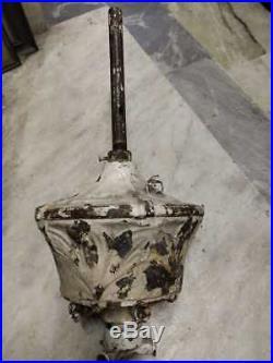 19c MUSEUM / PALACE Rare Antique DC Ceiling Fan WESTINGHOUSE HUNTER GE MARELLI
