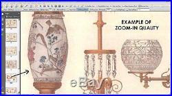500 ANTIQUE CATALOGS Gas Kerosene Electric Lamp Light Shade Meter Insulator Fan