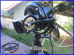 Antique 16 Ge Sidewinder Fan Vintage Ge Fan Brass Blade Fan C Westinghouse Fan