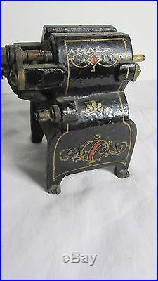 ANTIQUE ELECTRIC MOTOR SMALL SIZE PAINTED DECORATION Fan MOTOR