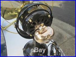 ANTIQUE FAN VINTAGE FAN GE FAN KIDNEY BOX & COVER BRONZE brass blade fan parts