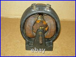 ANTIQUE K&D No. 5 ELECTRIC MOTOR 6 VDC 1,800 RPM-VG CONDITION-RUNS NICELY