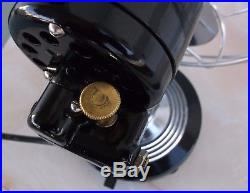 ANTIQUE/VINTAGE/DECO 30's ELECTRIC 10 OSCILLATING FAN-PROFESSIONALLY RESTORED