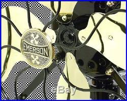 Art Deco Emerson Electric Fan Antique Electric Fan Restored