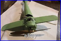American Antique Rare Fan-O-Plane Bi-Plane Airplane Ceiling Fan 1930s