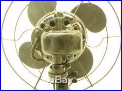 Antique 10 Emerson Model 2250B Oscillator Electric Table Fan