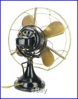 Antique 16 GE General Electric Kidney Oscillator Desk Fan
