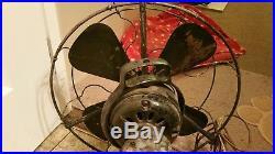 Antique 16 GE electric fan