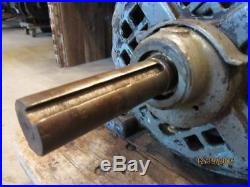 Antique 1903 Century 2 HP P7 Frame & 3 HP P15B Frame Induction Electric Motors