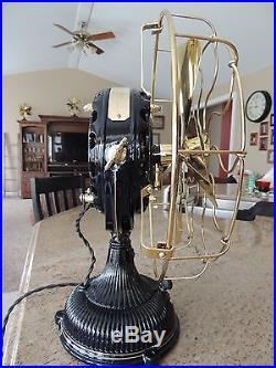 Antique 1904 General Electric Pancake Fan