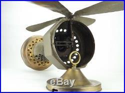 Antique 1914 German Hot Air Desk Fan Sterling Engine