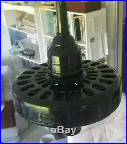Antique 1920's Ge General Electric Ceiling Fan-rebuilt W Remote Control & Video