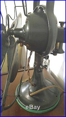 Antique 1920s GE General Electric 16 3 Speed Fan ORIGINAL Works beautifully