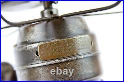 Antique 1921 AC Gilbert Polar CUB Type G Miniature Brass Blade Electric Desk Fan
