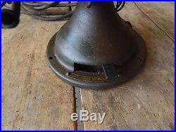 Antique 6 Blade General Electric Fan Type AO Vintage GE Industrial 0372
