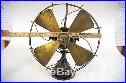 Antique Adams-Bagnall / Jandus Desk Fan Patent date 1901