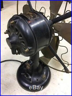 Antique Beautiful Original 1910 Era Western (Westinghouse)Vane Oscillator
