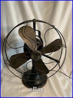 Antique Brass Blade Fan Graybar Electric 1930s