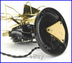 Antique Brass Electric Restored Westinghouse Pancake Rare 133 Cycle Model