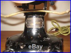 Antique Brass Peerless Table Fan