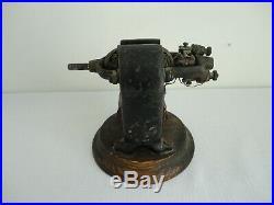 Antique Cast Iron BIPOLAR Dynamo Fan Electric Motor THE R. M. CORNWELL CO