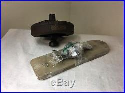 Antique Ceiling Fan Vintage Diehl Electric Cast Iron