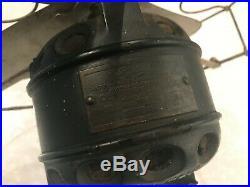 Antique Century Electric Fan Brass Blade Skeleton Motor 1906 PROJECT