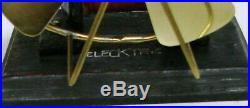 Antique Electric Bipolar Bi-polar Knapp Little Hustler With Fan Kit Brass Blade