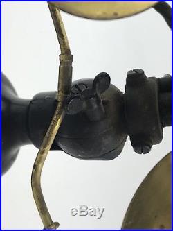 Antique Electric Fan, Brass Blade Fan, Emerson Fan 21645