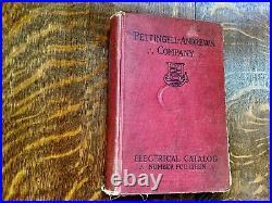 Antique Electric Fan Motor Battery Catalog 1910 Rare Early Old Edison Socket Etc