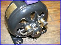 Antique Electric Motor HOLTZER-CABOT- PANCAKE MOTOR- 1/10 hp Boston-Chicago