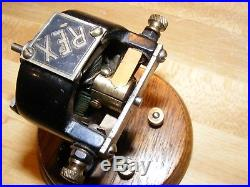 Antique Electric Motor REX Made by K&D