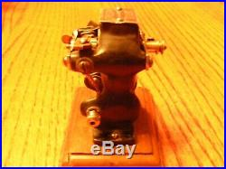 Antique Electric Motor Rare LITTLE HUSTLER RED With ON&OFF Switch