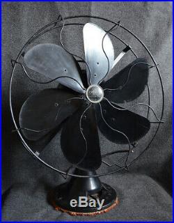 Antique Emerson 73668 16.5 6 Blade Fan1929-1935All Original Condition3 Speed