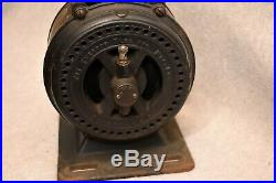 Antique Emerson Electric Mfg Co. Alternating Current Fan Motor withStand & Pulley