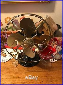 Antique Emerson Fan 19644 Brass Blade Fan Antique Fan Vintage Emerson Fan Oldfan