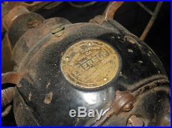 Antique Emerson Fan 24046 DC Brass Fan Brass Blade RARE missing controls