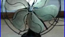 Antique Emerson Fan Model 29668 1923-1925 working, Parker fan 16 blades