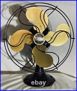 Antique Emerson Jr (Junior) 10 Oscillating Fan, c1929