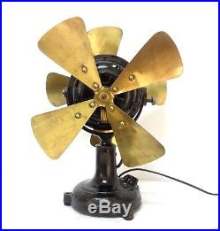 Antique & Extremely Rare Marelli Partners Fan 1900/20 Working & Serviced See