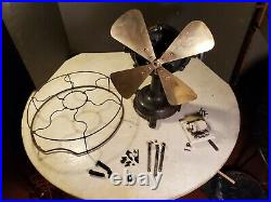 Antique FIDELITY ELECTRIC Fan Lancaster Pa. All Apart Restoration Project U Fix