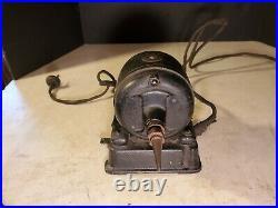 Antique FIDELITY Electric Co. Lancaster Pa Motor Reversing w Foot Switch Fan