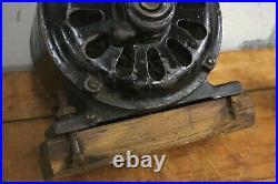 Antique Fan Pancake Motor Colonial Fan Motor Co For Brass Blade Fan parts repair