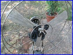 Antique Fan Vintage Lake Breeze Fan Lakebreeze Hot Air Fan Jost Fan Stirling